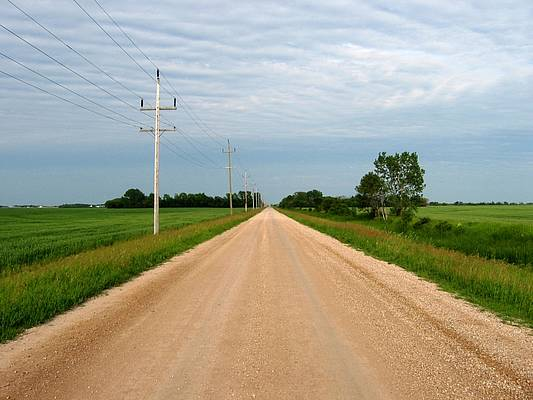 Gravel road safety tips